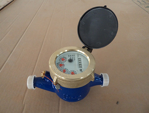 Vane Wheel Multi-Jet Dry Dial Magnetic Type Cold (Hot) Water Meter