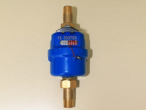 Rotary Piston Volumetric Type Water Meter