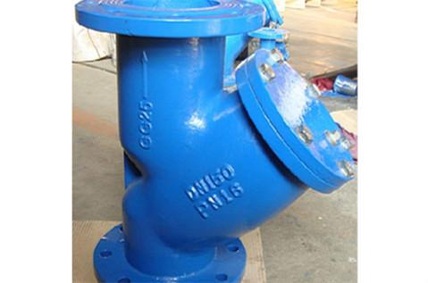 Ductile Iron Y - type Strainer Structural Features