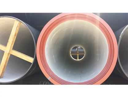 Size Information of Ductile Iron Pipe