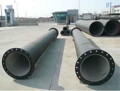 Comparison Of Ductile Iron Pipe And PE Pipe