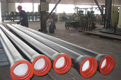 Ductile Iron Pipe And Steel Pipe Docking Method